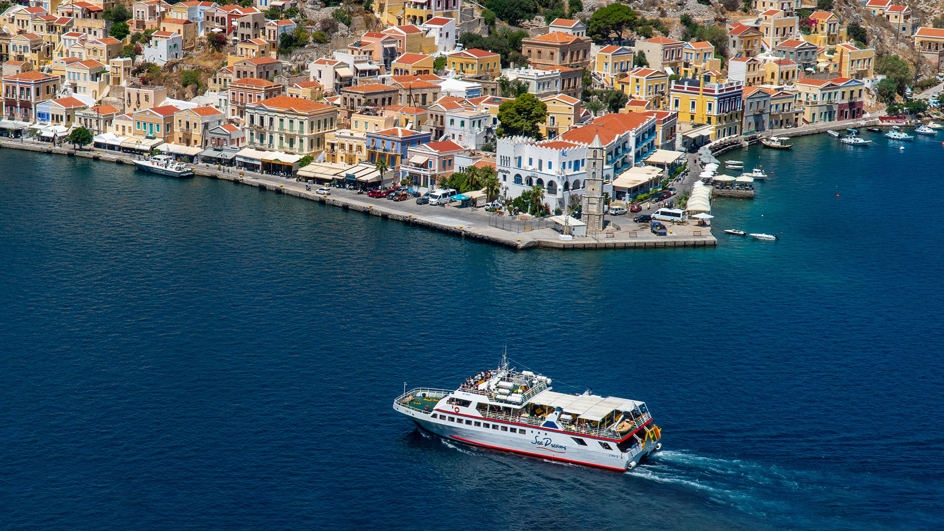 Ferry Excursion to Symi from Rhodes